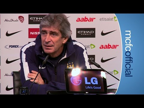 PELLEGRINI PREVIEWS EVERTON | City v Everton presser part 2