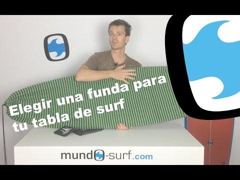 Como elegir una funda para tu tabla de surf
