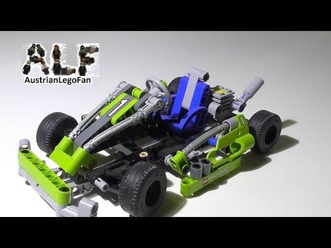 Vidéo LEGO Technic 8256 : Go-Kart
