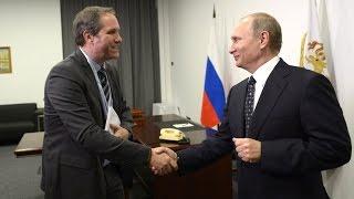 Владимир Путин дал интервью французскому телеканалу TF1