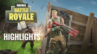 Fortnite Battle Royale Highlights PS4 (EighteeN O FivE)