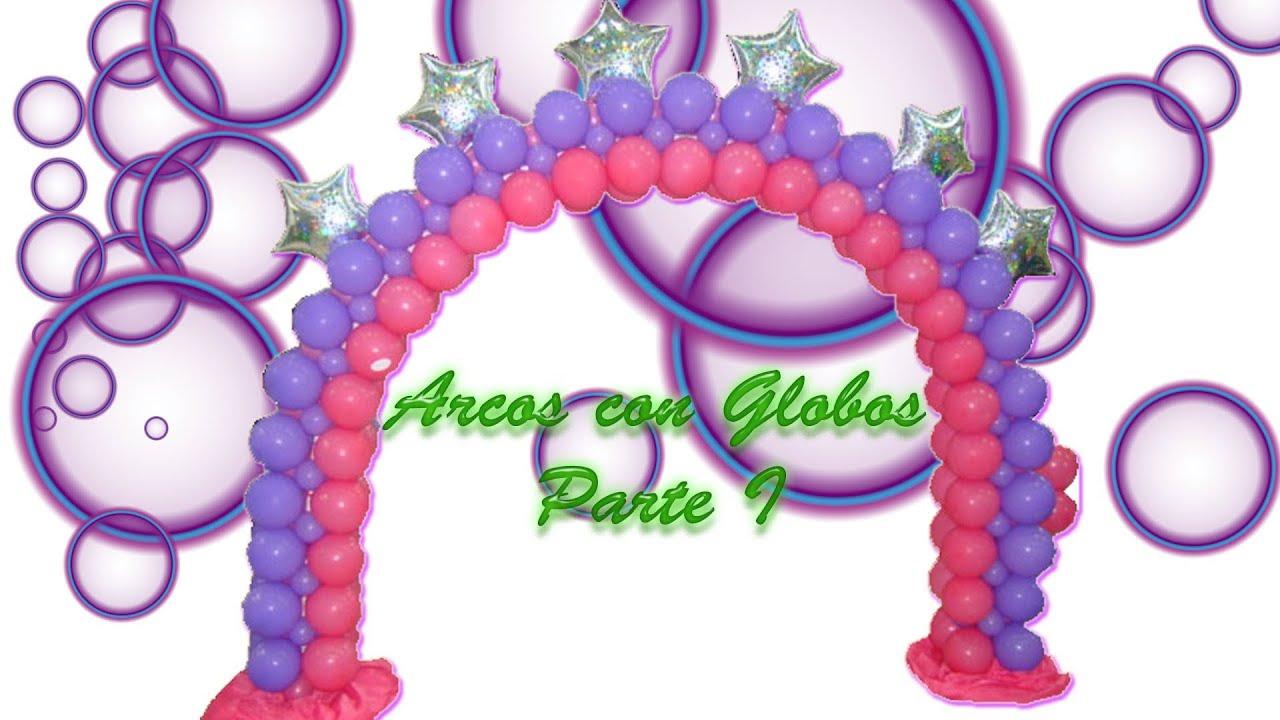Arcos con Globos Parte I El Lastre Curso de Globos Balloons