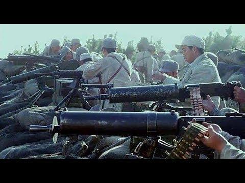 人手一挺重机枪 火力碾压日军 鬼子坚持14年才逃走真不容易
