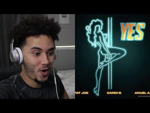 [REACCION] Fat Joe, Cardi B & Anuel AA - YES (Audio)