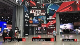 2019 New York Auto Show Tour With Redline Reviews