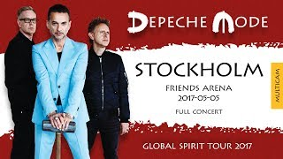 Depeche Mode - Global Spirit Tour 2017 - Stockholm, Sweden (Full Concert)(Multicam)(2017-05-05)