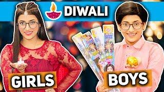 Diwali : Girls Vs. Boys   SAMREEN ALI