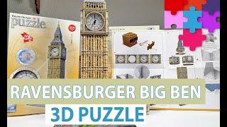 3D Puzzle Big Ben in London - Ravensburger Puzzle