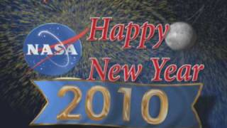 NASA Televisions 2010 Happy New Year ID