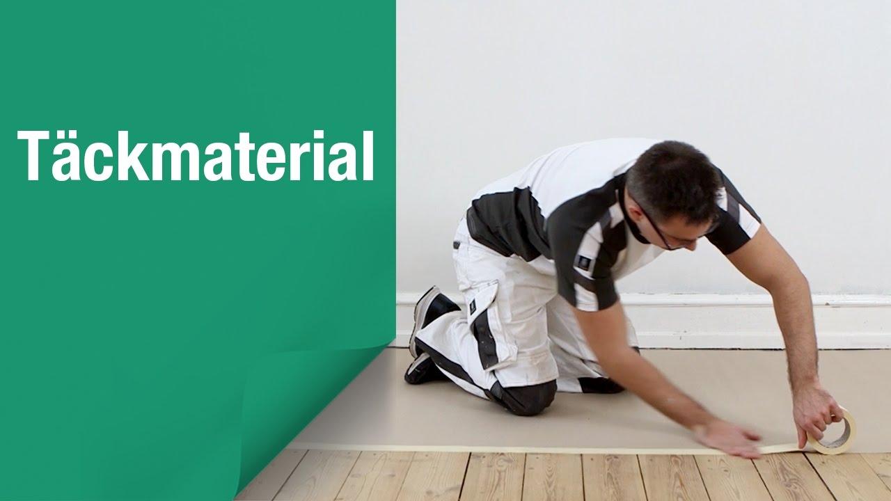 Så här undviker du färgstänk på golv och möbler