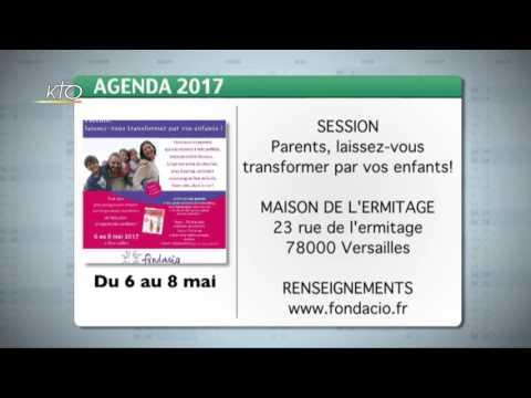 Agenda du 17 avril 2017