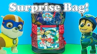 PAW PATROL Nickelodeon Paw Patrol & Blaze Surprise Bag Toys Video
