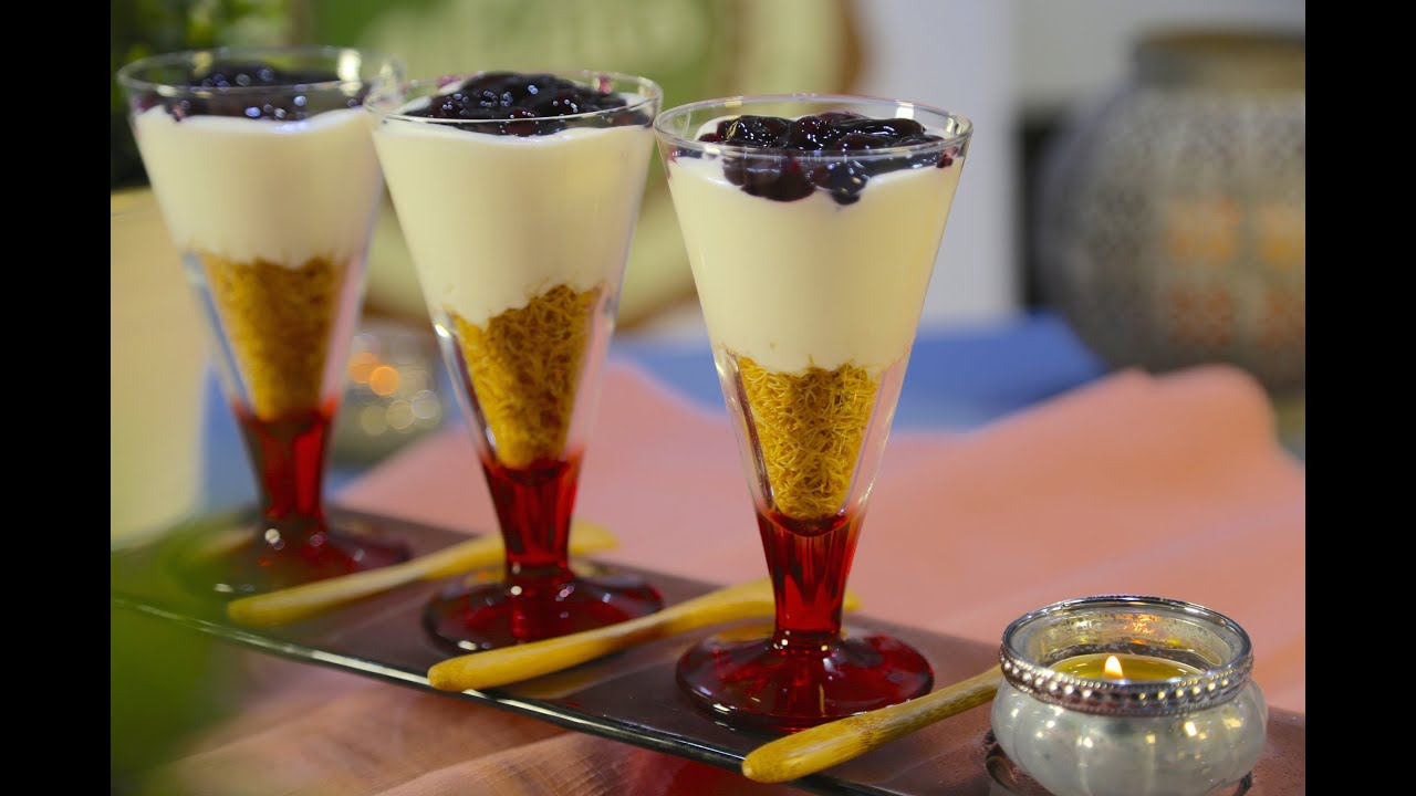 Kunafa Cups Dessert