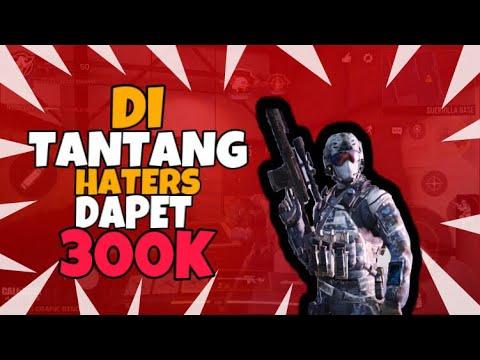 Di tantang HATERS BY1 sniper DAPET 300K-CODM-