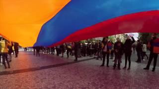 April 24, 2016 Armenian Genocide March in Prague