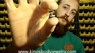 Fake Plugs For Ear Stretching Beginners, Fake Gauge Plugs