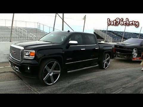 "2015 GMC Sierra Denali 1500 Truck on 30"" DUB Baller Wheels - 1080p HD"