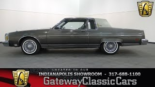 1983 Oldsmobile 98 Regency #603-ndy - Gateway Classic Cars - Indianapolis
