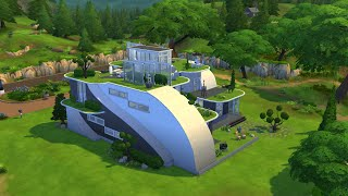 The Sims 4 - Futuristic House Building