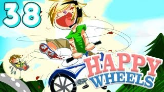 SUPER EPIC ULTRA IMPOSSIBLE JUMP! - Happy Wheels - Part 38