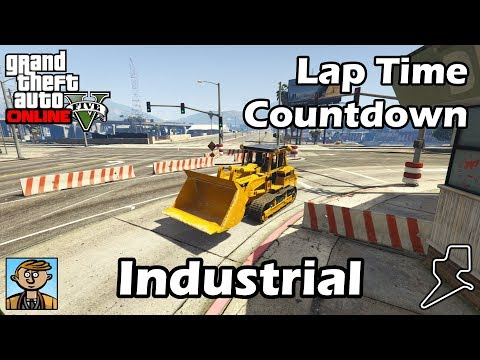 Fastest Industrial Vehicles (2018) - GTA 5 Best Fully Upgraded Cars Lap Time Countdown