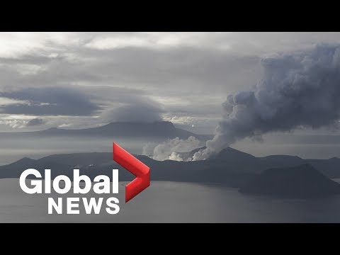 Philippines' Taal volcano eruption watch | January 18