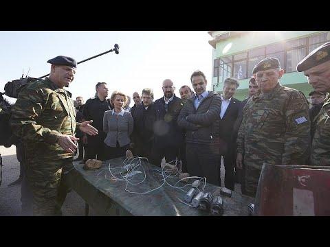 ΕΕ από τις Καστανιές Έβρου: «Μαζί πρέπει να προστατεύουμε τα σύνορά μας»…