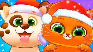 Мой виртуальный КОТИК БУБУ и ПЕСИК ДУДУ Друзья Мультики для детей Игры про котят BUBBU собачку DUDDU
