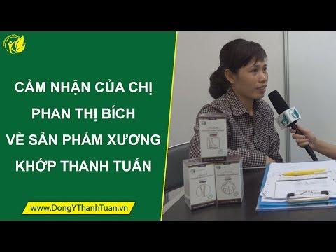 [Đông Y Thanh Tuấn] Cảm nhận của chị Phan Thị Bích về sản phẩm xương khớp Thanh Tuấn