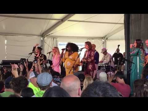 "First-ever LIVE Appearance by HighWomen, ""Highwoman"" Newport Folk Fest 7/26/19"