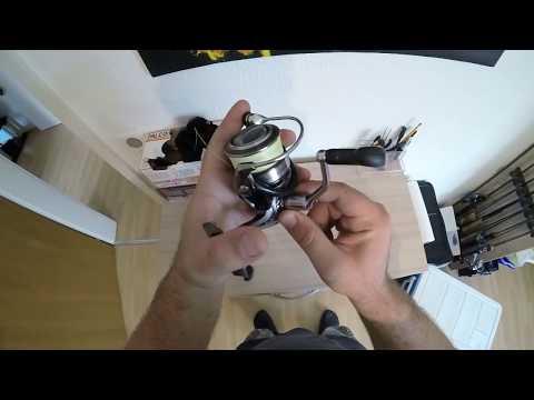 Tipp: die Kurbel bei Spinnrollen/Unterschiede