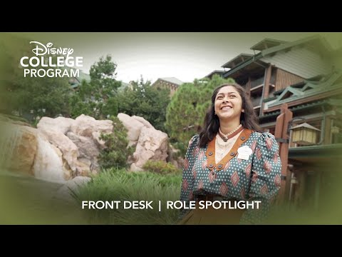 Front Desk   Disney College Program Role
