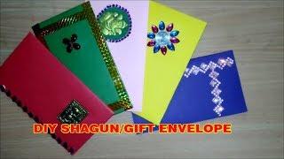 DIY Shagun Envelope  Handmade Shagun Envelope Marriage-Wedding Gift Envelope