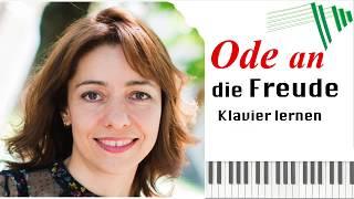 Ode an die Freude - Klavierunterricht mit Hobby Piano