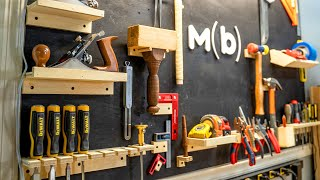 How To Make A Simple Tool Wall For A Garage Workshop