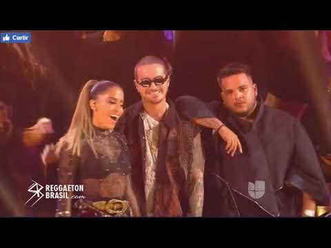 J Balvin e Anitta - Machika & Downtown (Premio Lo Nuestro 2018) [COMPLETO]