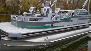 Понтонный катер для отдыха и рыбалки