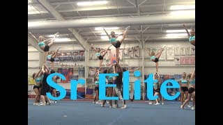 Cheer Extreme Sr Elite Beach Camp 2017