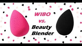 Test na żywo - gąbeczka WIBO vs. Beauty Blender