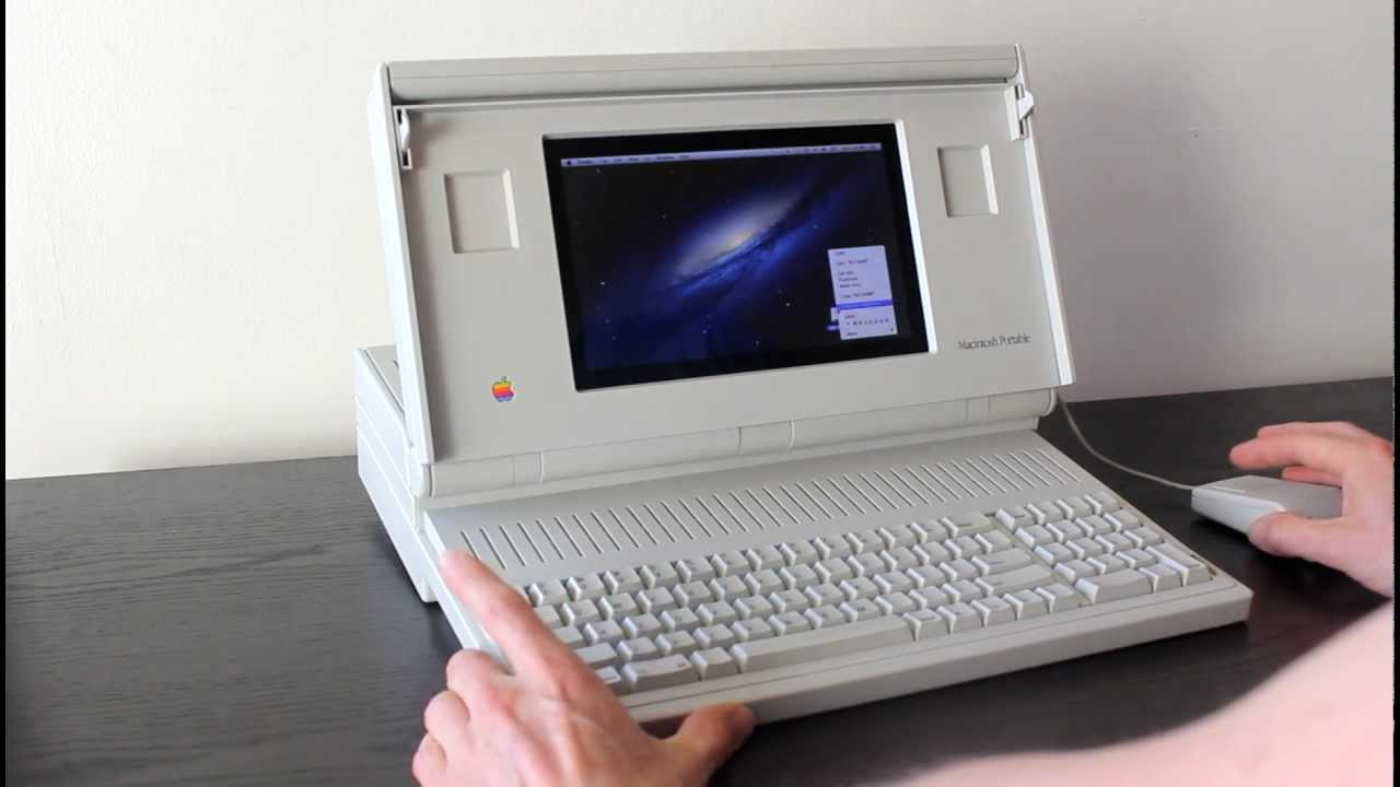 Running OS X On An Old Macintosh Portable Is Pointless But Awesome