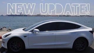 Tesla's BIGGEST and BEST Update Yet: Version 9.0 on Model 3