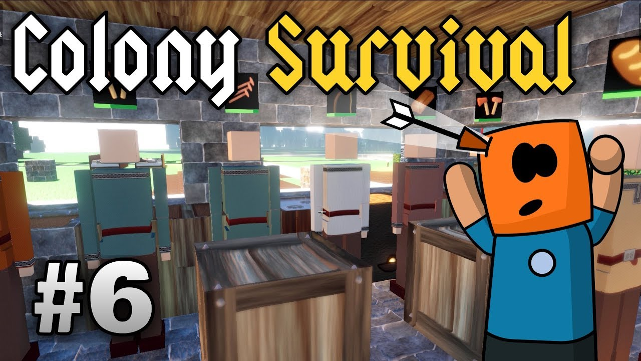 Colony Survival ep6 | Bow Guards