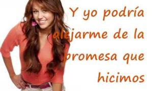 Miley Cyrus I Thought I Lost You En Español