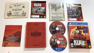 Red Dead Redemption 2 Unboxing: PS4! (Ultimate Edition)