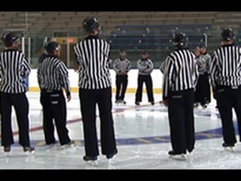 Ice Hockey Referee Clinic - YouTube