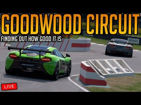 Gran Turismo Sport: Testing the Goodwood Circuit   Update 1.39