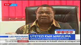 Francis Atwoli kuhusiana na maswala ya wakulima na majani chai