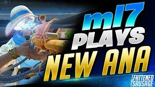"#1 Ana ""ml7"" Makes NEW BUFFED ANA Look BROKEN! New Ana Gameplay"