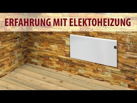 Elektroheizung - Erfahrung