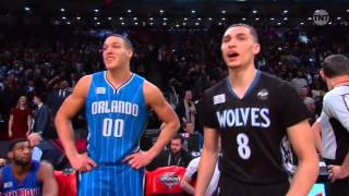 2016 NBA Slam Dunk Contest - Aaron Gordon vs Zach LaVine HD Full